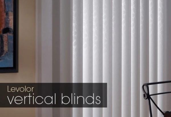 Brushed Aluminum Brushed Aluminum Vertical Blinds