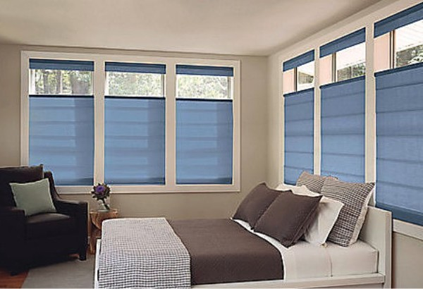 roman shades by levolor combine the beauty of fabric window treatments with the easy operation of a shade they are available in many colors textures - Levolor Shades